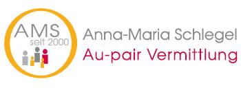 Au-Pair Vermittlung AMS Anna-Maria Schlegel Freiburg  - Logo