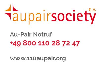 Au-Pair Society Notrufnummer