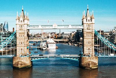 Ansicht London Tower Bridge